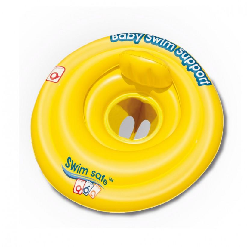 BESTWAY Detský nafukovací kruh 69 cm žltý
