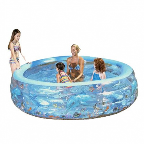 BESTWAY 51072 Detský bazén Delfín 229 x 56 cm