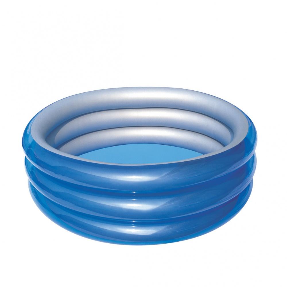 BESTWAY 51041 Detský kruhový bazén Metallic 150 x 53 cm