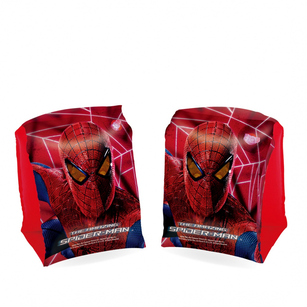 BESTWAY Spider-Man nafukovačky - rukávy, kruh, lopta