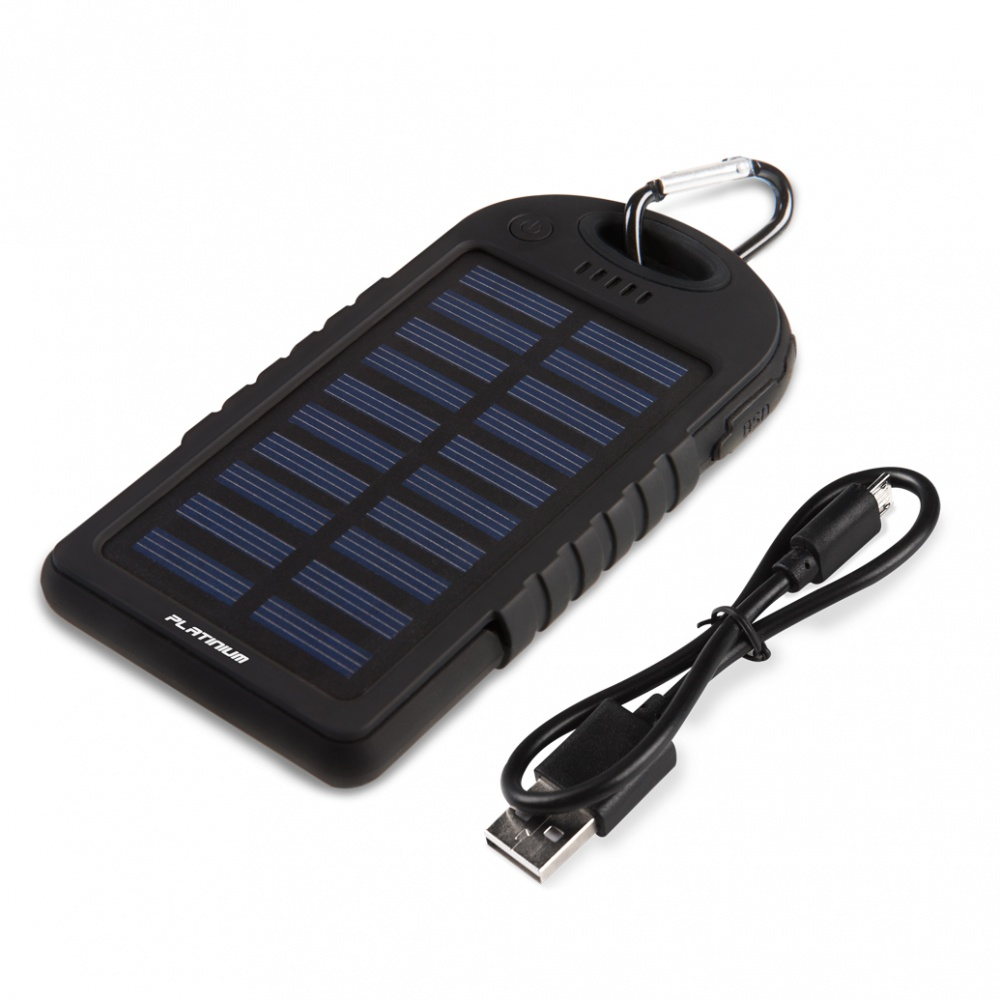 Platinium Power bank externá batéria ECO Solar 5000 mAh PM-PB144