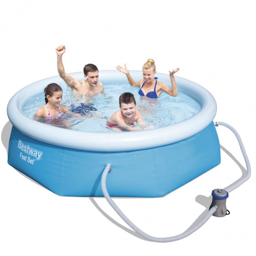 Bestway bazén Fast Set 2,44 x 0,66 m - 57268